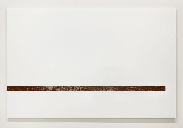 09 Páska normál - 2008, 150x170 cm, syntetika na plátně-web