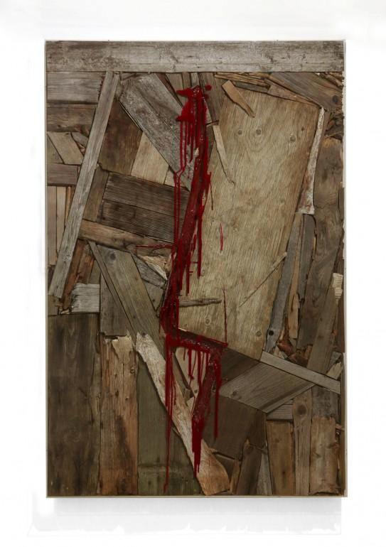 14 Vnitřní malba, 2012, dřevo, akryl, 160x110x10 cm (3)