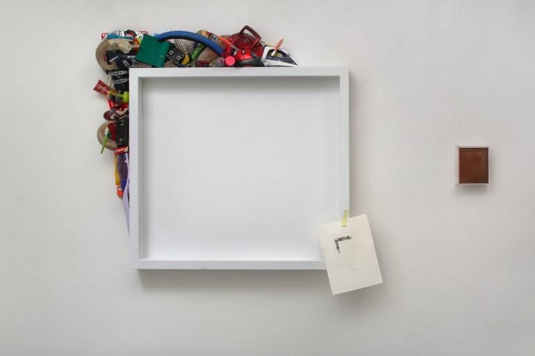 15 Úhell - 2012, 147x135x16 cm, komb.tech.-web