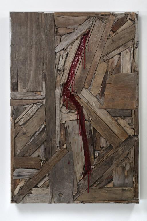 16 Vnitřní malba, 2012, dřevo, akryl, 160x110x10 cm (4)