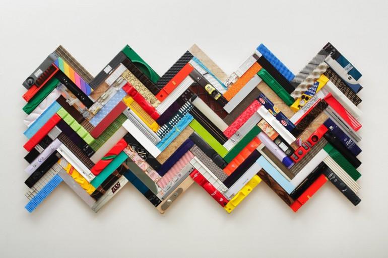 18 Stav přitažlivého opovržení, 2012, 300x100x10 cm, kombinovaná tech.-web
